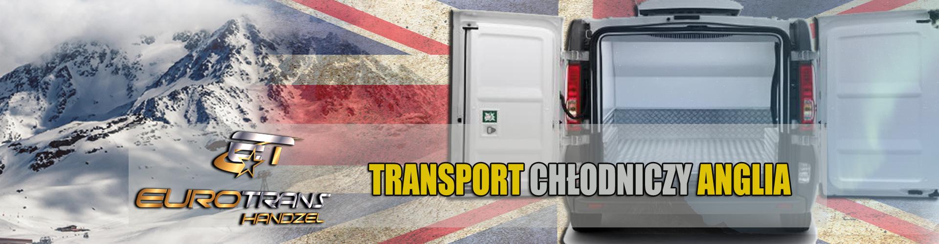 Transport chłodniczy Anglia