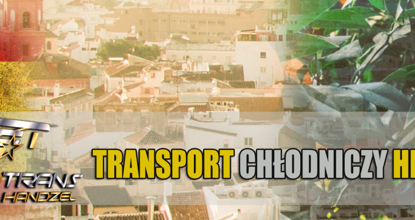 transport chlodniczy hiszpania